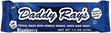 Daddy Ray's Blueberry Lowfat Cereal Bar 1.3 Oz Wrapper