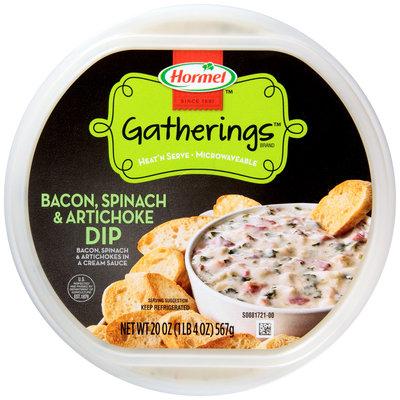 Hormel™ Gatherings™ Bacon, Spinach, Artichoke Dip 20 oz. Tub