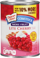 Duncan Hines® Comstock® More Fruit Lite Cherry Pie Filling & Topping 20 oz. Can
