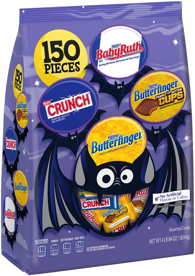 Nestlé Assorted Halloween Chocolate 150 pieces, 64 oz Bag