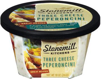Stonemill Kitchens Three Cheese Pepperoni Dip 10 Oz Tub