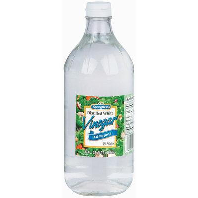 Springfield White Distilled All Purpose Vinegar 32 Oz Glass Bottle