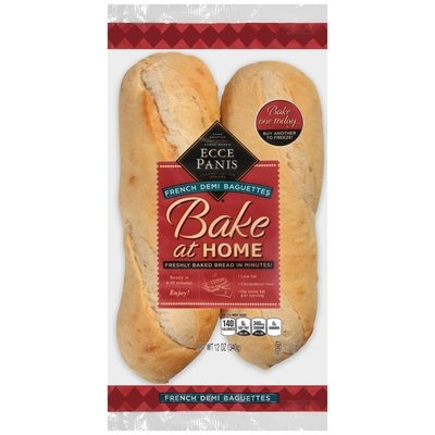 Ecce Panis® Bake at Home French Demi Baguettes 12 oz. Bag