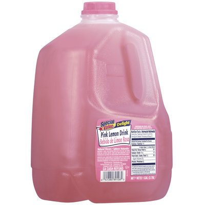 Special Value Delight Pink Lemon Drink 1 Gal Jug