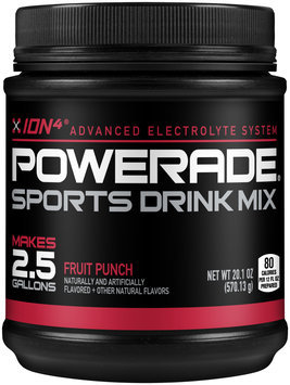 Powerade®  Fruit Punch Sports Drink Mix2.5 Gal. Canister