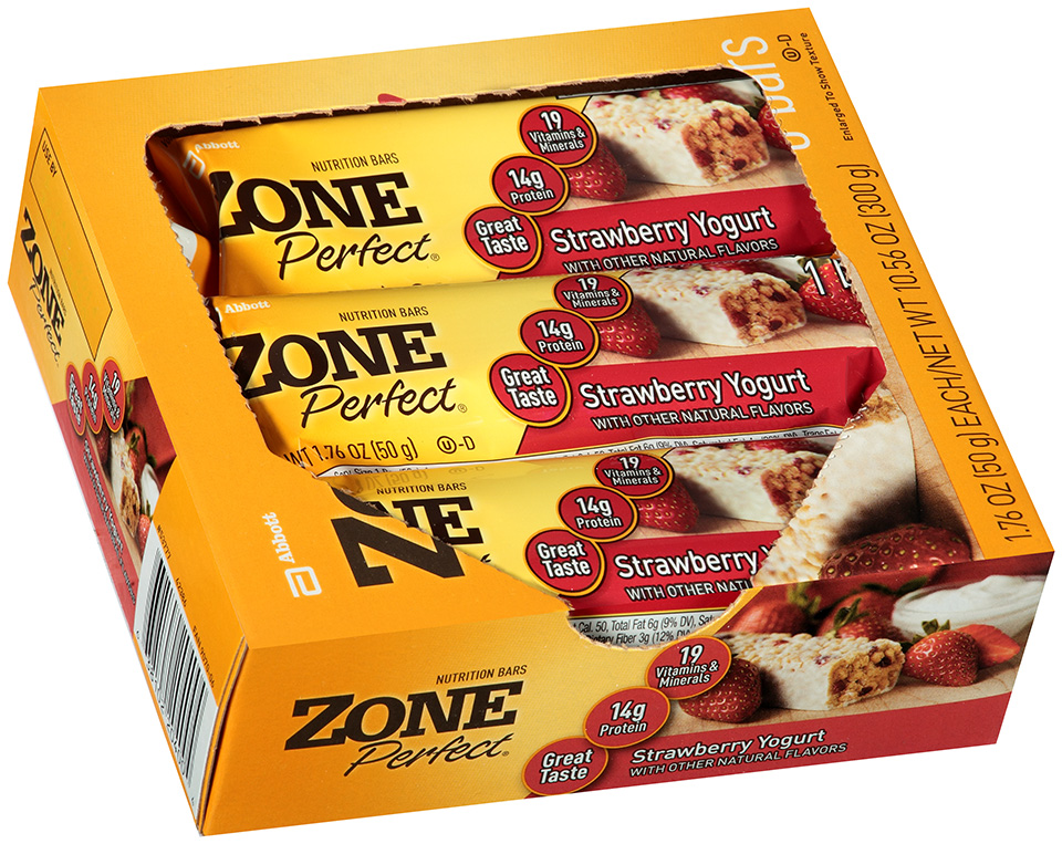 Zone Perfect® Strawberry Yogurt Nutrition Bars 10.56 oz. Box