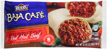 Reser's Fine Foods® Baja Cafe® Red Hot Beef Burritos 32 oz. Bag