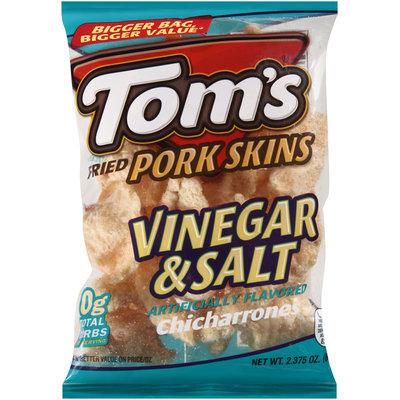 Tom's® Fried Pork Skins Vinegar & Salt 2.38 oz. Bag