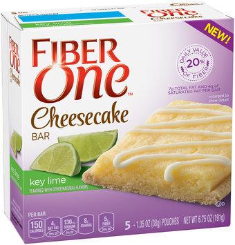 Fiber One Cheesecake Bars Key Lime