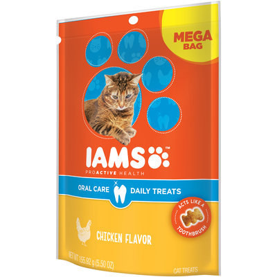 Iams™ ProActive Health Chicken  Flavor Oral Care Daily Treats 5.50 oz. Bag