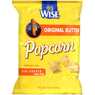 Wise® Premium Air-Popped Whole Grain Original Butter Popcorn