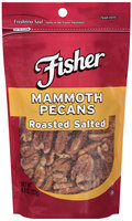 Fisher® Mammoth Roasted Salted Pecans 4.5 oz. Bag
