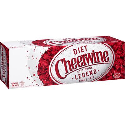 Cheerwine® Diet Cherry Soft Drink Legend 12-12 fl. oz. Cans