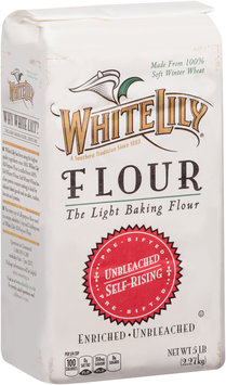 White Lily® Self-Rising Pre-Sifted Enriched Unbleached Flour 5 lb Bag