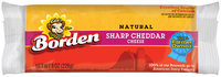 Borden Sharp Cheddar Cheese, 8 oz