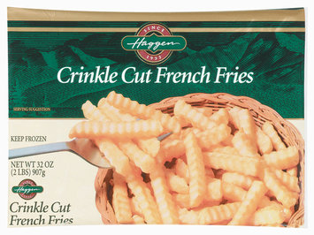 Haggen French Fries Crinkle Cut Potatoes 32 Oz Bag