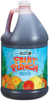 Springfield  Concentrate Fruit Punch 128 Fl Oz Jug