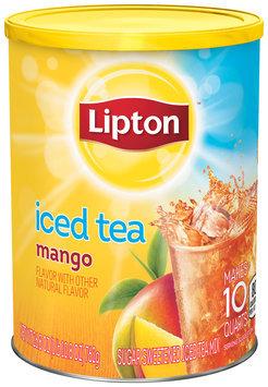 Lipton® Mango Sugar Sweetened Iced Tea Mix 10 qt. Canister