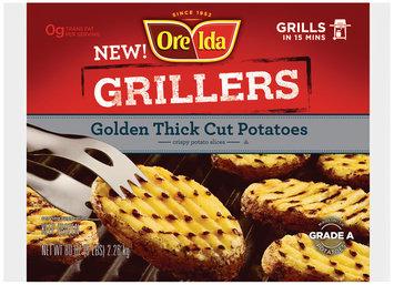 Ore-Ida® Grillers Golden Thick Cut Potatoes 80 oz Bag