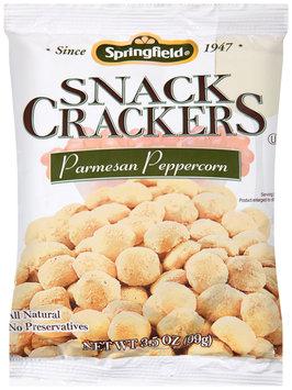 Springfield® Parmesan Peppercorn Snack Crackers 3.5 oz. Bag