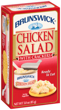 Brunswick® Chicken Salad with Crackers 3.0 oz. Box