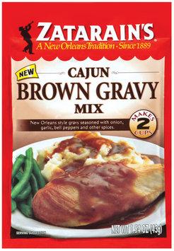 Zatarain's® Cajun Brown Gravy Mix 1.54 oz. Packet