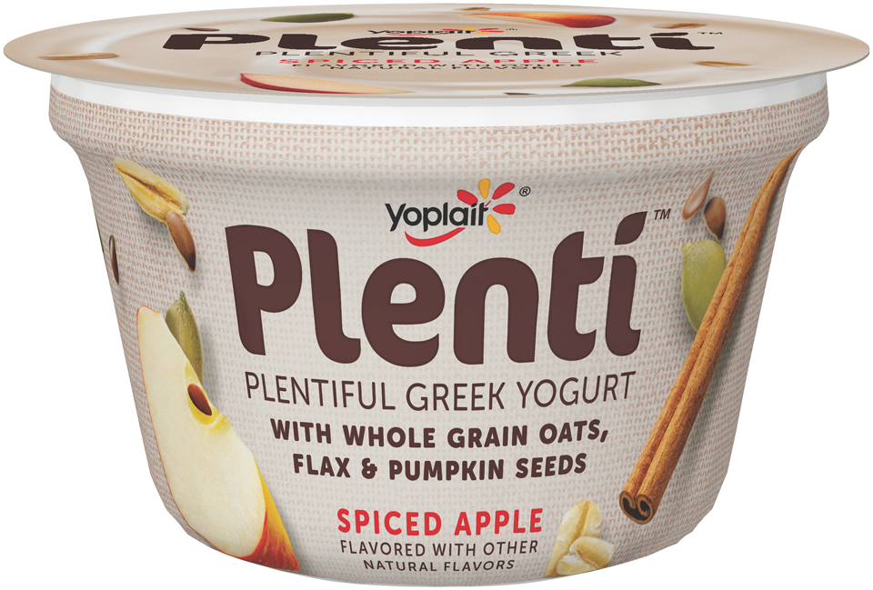 Yoplait® Plenti™ Greek Spiced Apple Low Fat Yogurt 5.5 oz. Cup