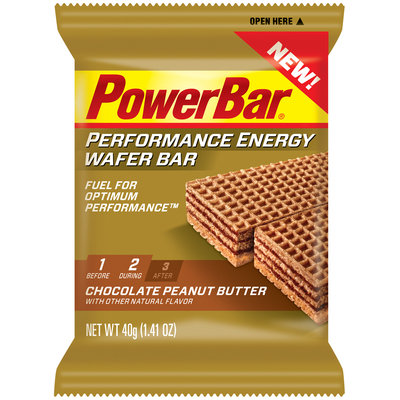 PowerBar Performance Energy Wafer Bar Chocolate Peanut Butter
