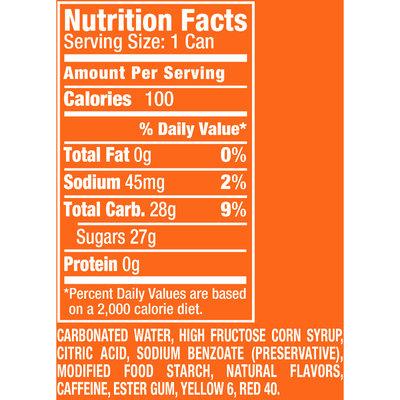 Sunkist® Orange Soda 6-7.5 fl. oz. Cans
