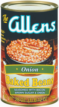 The Allens Onion Baked Beans 28 Oz Can