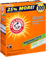 ARM & HAMMER™ Concentrated Laundry Detergent Free of Perfumes and Dyes 100 Loads 6.16 lb. Box