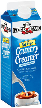 Penn Maid Coffee Creamer Fat Free Country Creamer 32 Oz Carton