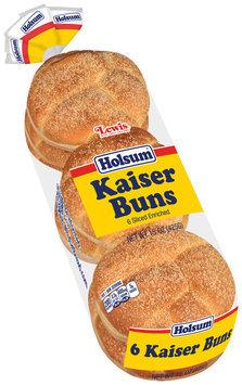 Lewis® Holsum® Kaiser Buns 15 oz. Pack