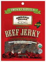 Organic Prairie Organic Smoky Chipotle Medium Beef Jerky 2 Oz Peg