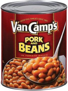 Van Camp's  Pork & Beans 104 Oz Can
