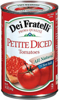 Dei Fratelli Petite Diced Tomatoes 14.5 Oz Can