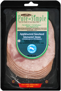 Land O' Frost® Pure and Simple Applewood Smoked Uncured Ham