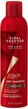 Vidal Sassoon ColorFinity Rich Darks Dry Shampoo