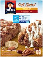 Quaker® Soft Baked Banana Nut And Cinnamon Pecan Bars