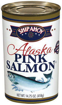 Ship Ahoy Alaska Pink Salmon 14.75 Oz Can