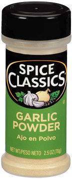 Spice Classics® Garlic Powder 2.5 oz. Shaker