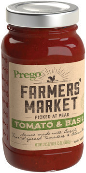 Prego® Farmers' Market Tomato & Basil Sauce 23.5 oz. Jar