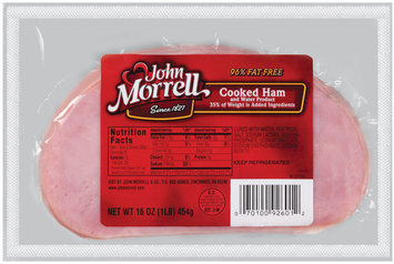 John Morrell Sliced Ham Cooked Lunchmeat