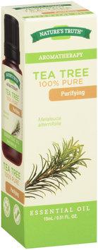 Nature's Truth® Aromatherapy Tea Tree 100% Pure Essential Oil 0.51 fl. oz. Box