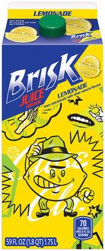 Brisk® Juice Drink Lemonade 59 oz. Carton
