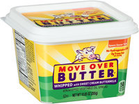 Move Over Butter® 65% Whipped Vegetable Oil Spread 10.05 oz. Tub