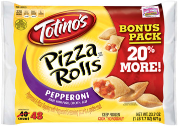 Totino's® Pepperoni Pizza Rolls® 48 ct Box