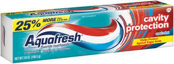Aquafresh® Cavity Protection Cool Mint Fluoride Toothpaste
