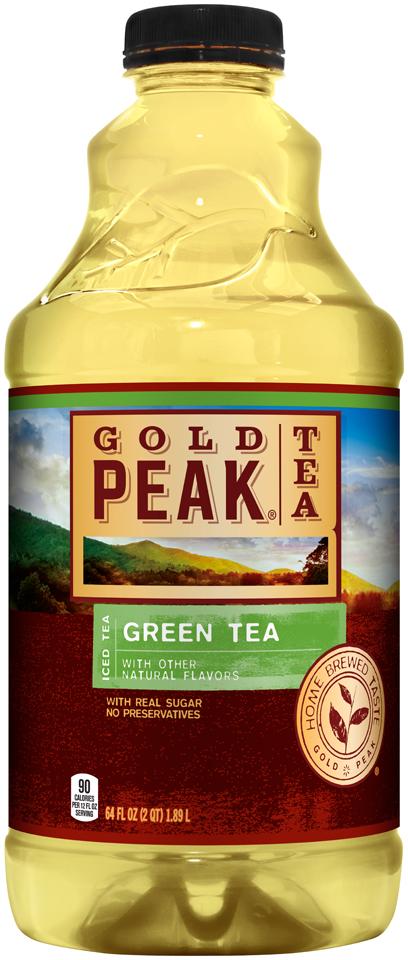 Gold Peak® Green Tea Iced Tea 64 fl. oz. Bottle
