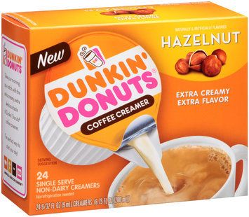 Dunkin' Donuts® Hazelnut Coffee Creamer 24 ct Box